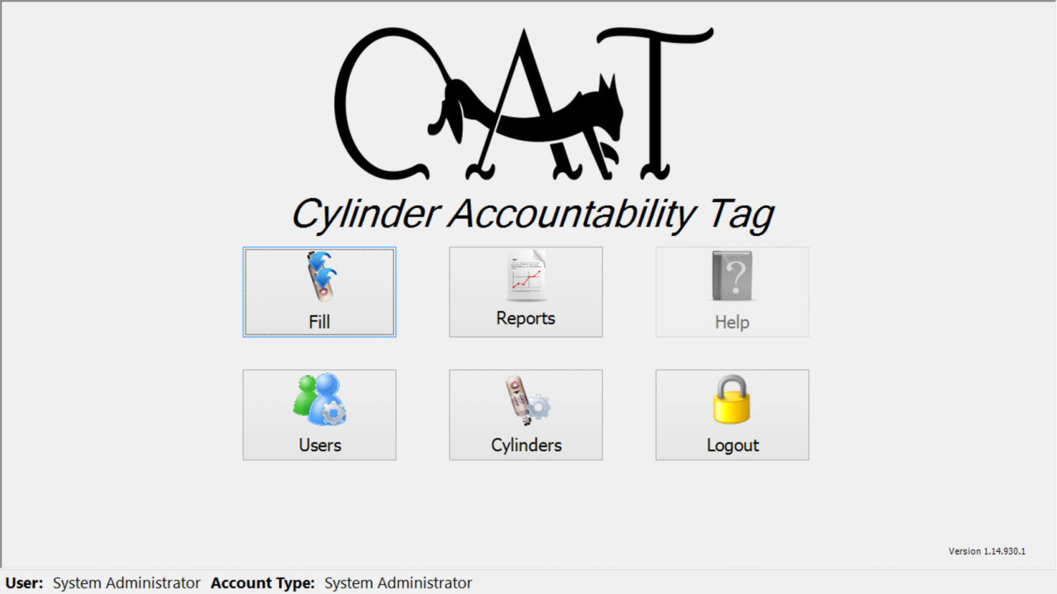 Cylinder Accountabiltiy Tag, CAT, SCBA